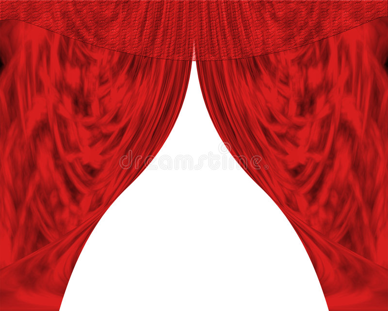 Curtains Royalty Free Stock Photography