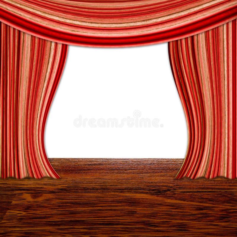 Curtains vector illustration