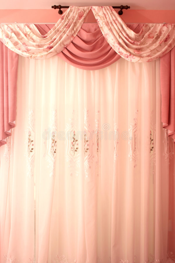 Download Curtains stock image. Image of romantic, indoors, decor - 9015281