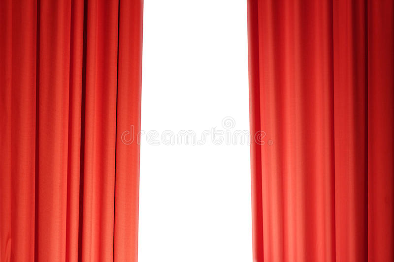 Download Curtains In Red Royalty Free Stock Photography - Image: 23494547