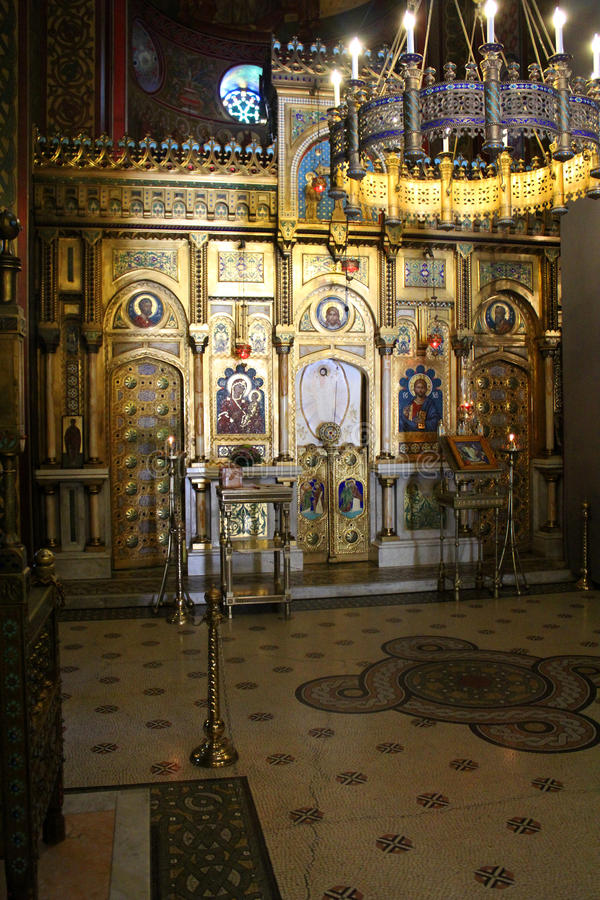 Curtea De Arges Monaster, Rumunia fotografia stock