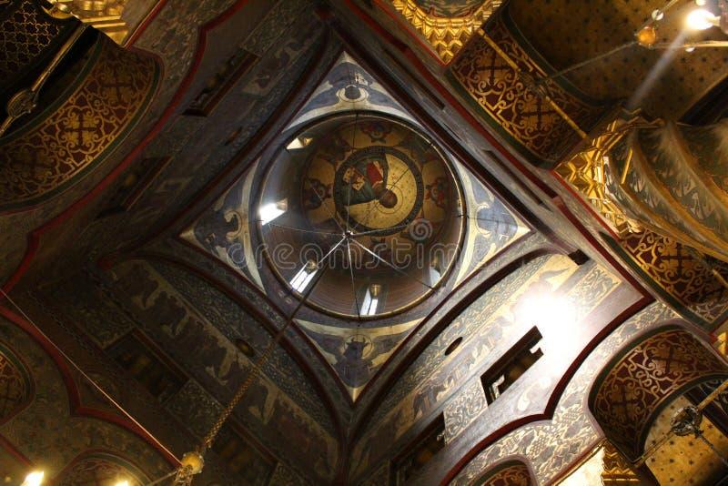 Curtea De Arges Monaster, Rumunia obraz royalty free