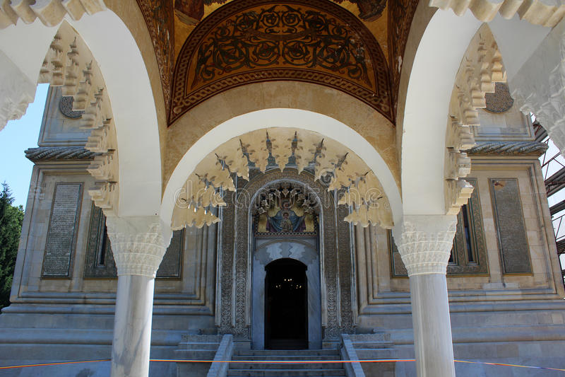 Curtea De Arges Monaster, Rumunia zdjęcie royalty free