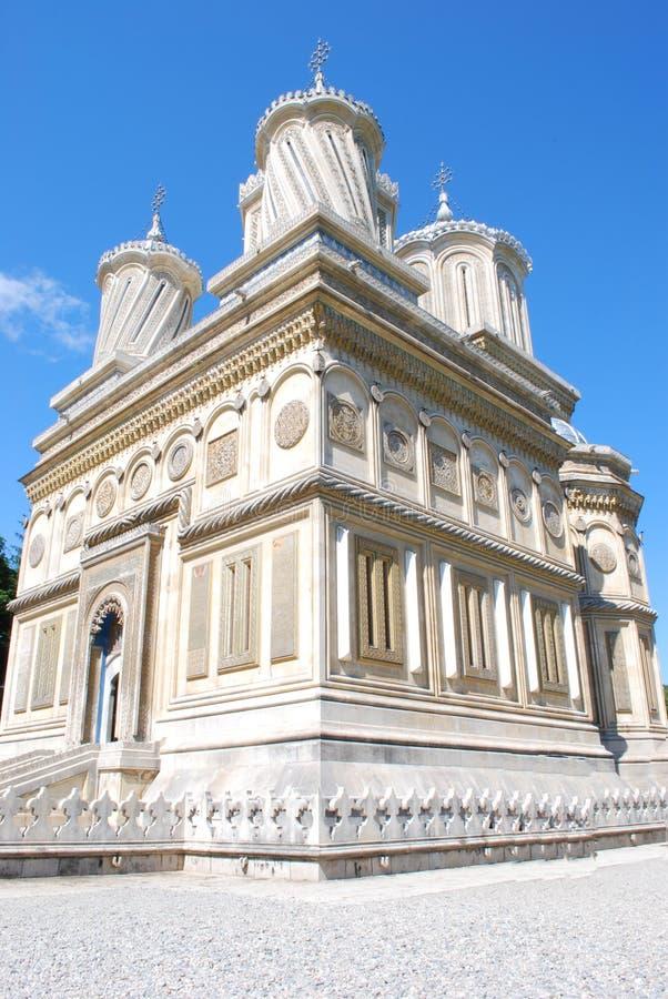 Curtea de Arges monastery stock images