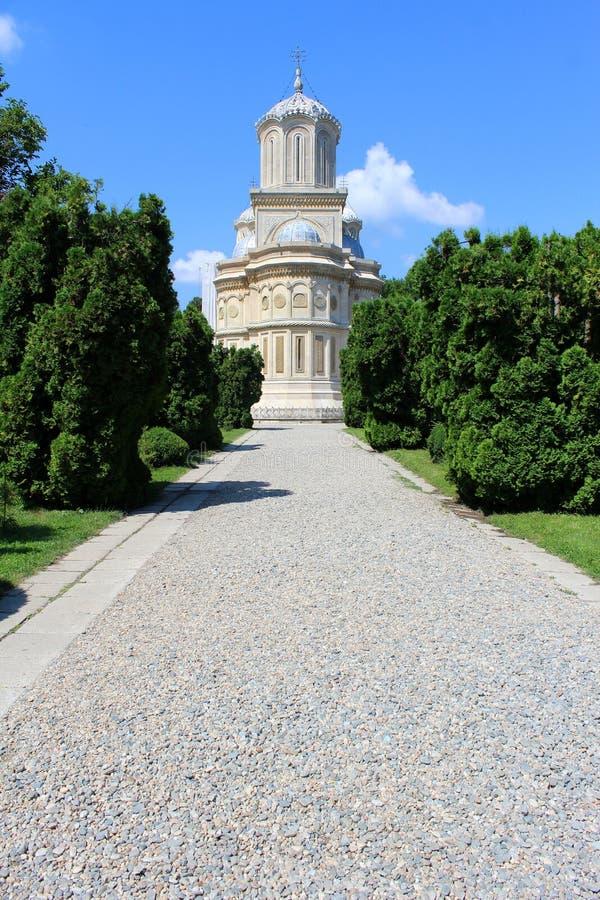 Curtea de Arges Monastery, Romania immagini stock libere da diritti