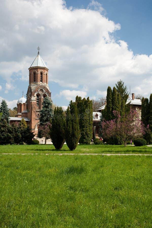 Curtea de Arges monastery, travel, destination stock photo