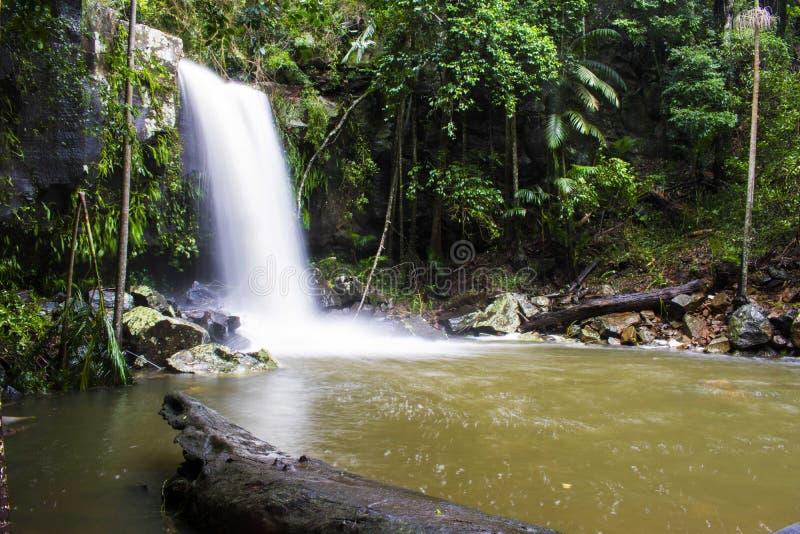 Curtis Falls After Cyclone Debbie foto de archivo libre de regalías