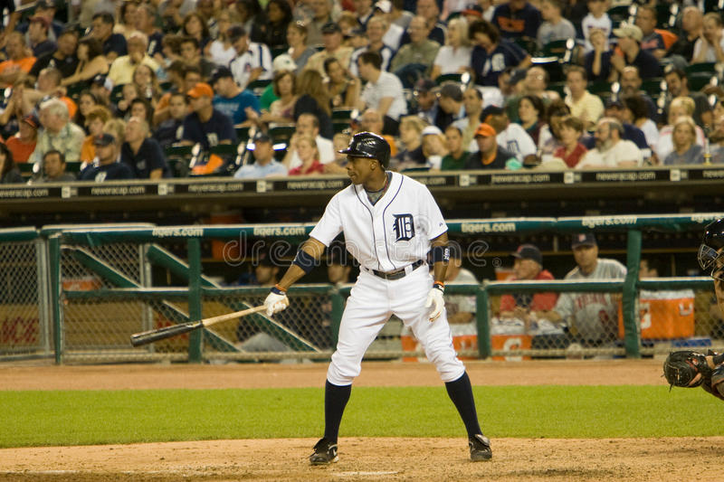 Curtis Granderson of the Detroit Tigers stock images