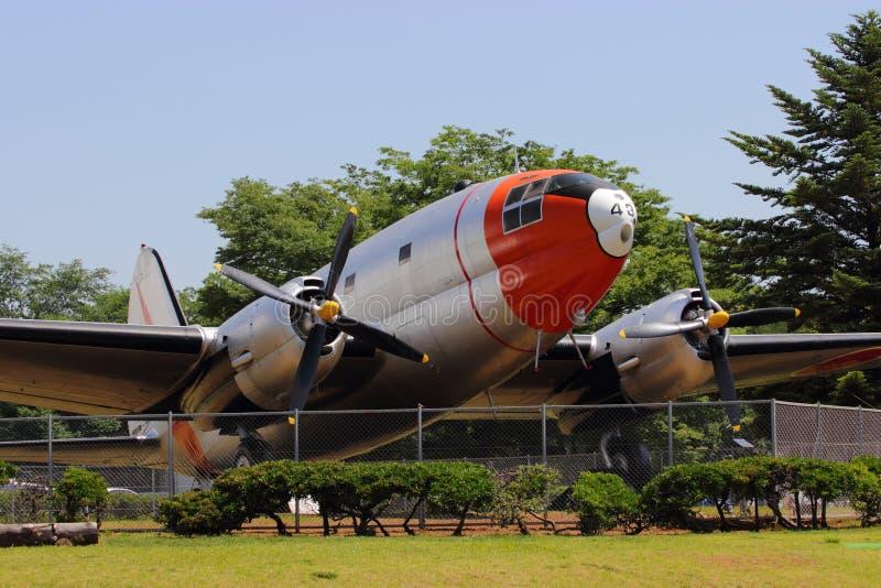 Curtiss C-46A desantowiec zdjęcie royalty free