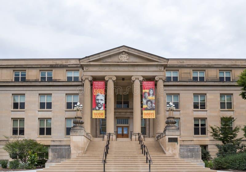 Curtiss Hall an der Staat Iowas-Universität lizenzfreie stockfotos