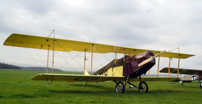 Curtiss jn-4 stock afbeelding