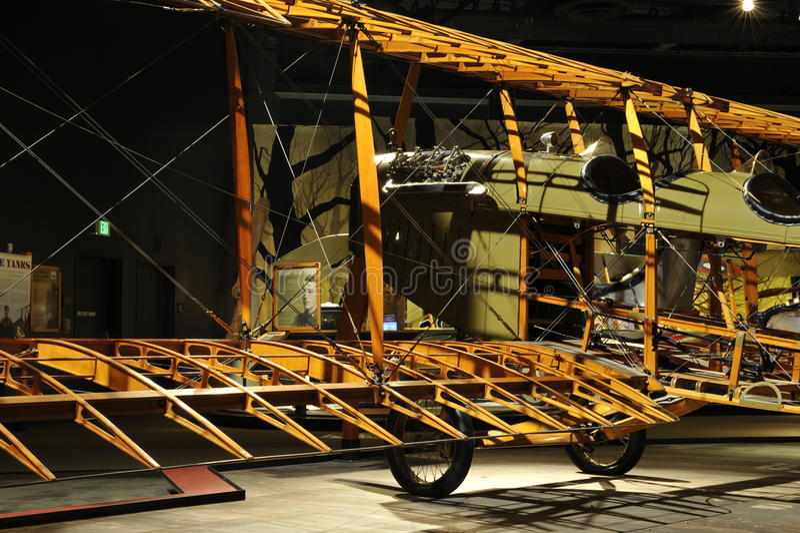 Curtiss jn-4D Jenny 1917 stock afbeelding