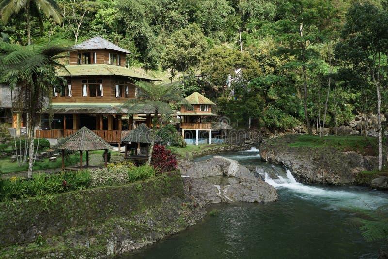 At Bayan Waterfall royalty free stock photography