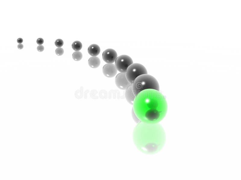Curva stock de ilustración