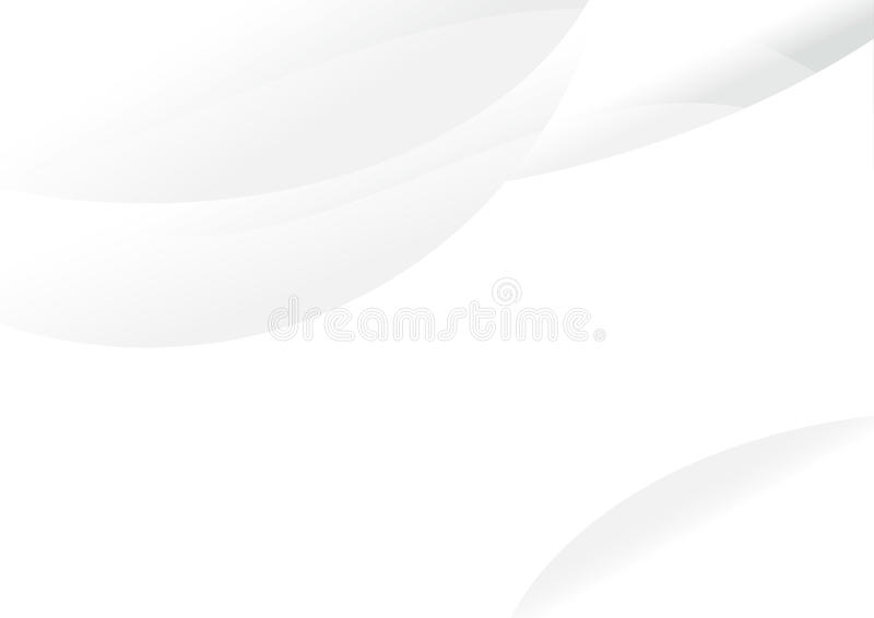 Curva abstracta del blanco del vector fotos de archivo libres de regalías