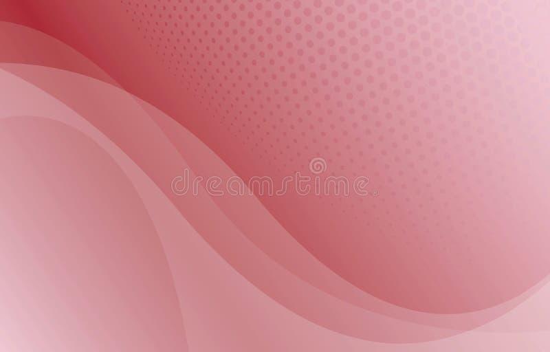 Curva abstrata ilustração royalty free