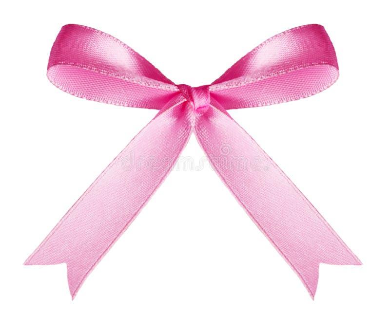Curva cor-de-rosa foto de stock