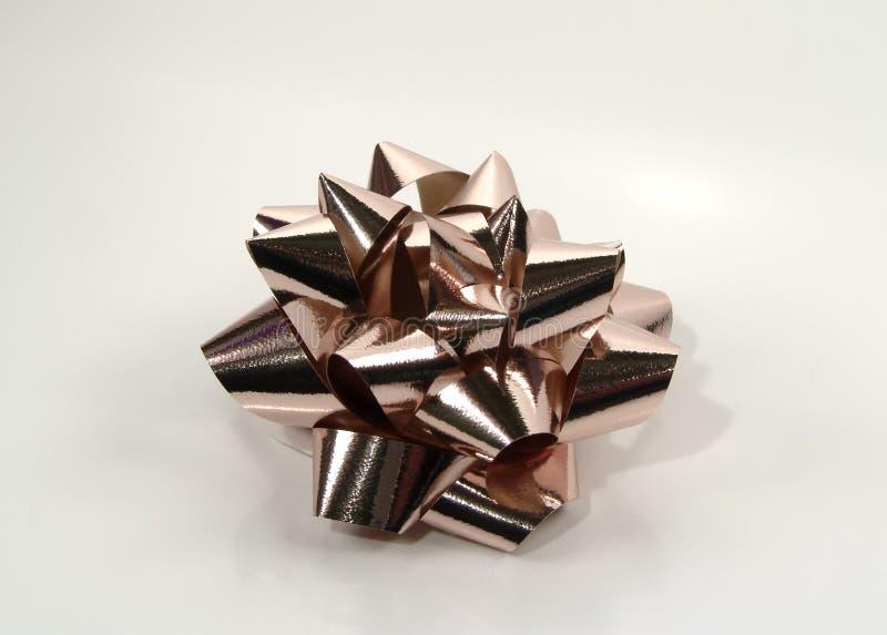 Curva De Bronze Foto de Stock