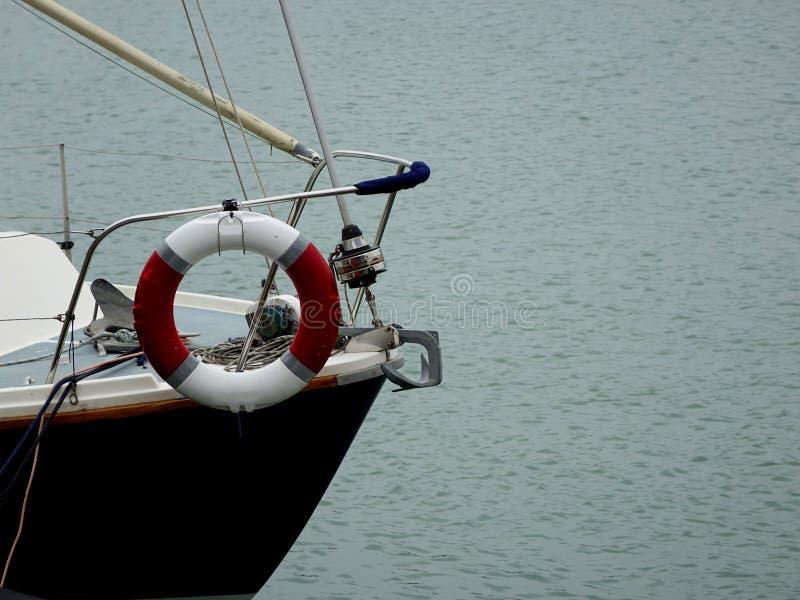 A curva de um barco foto de stock royalty free