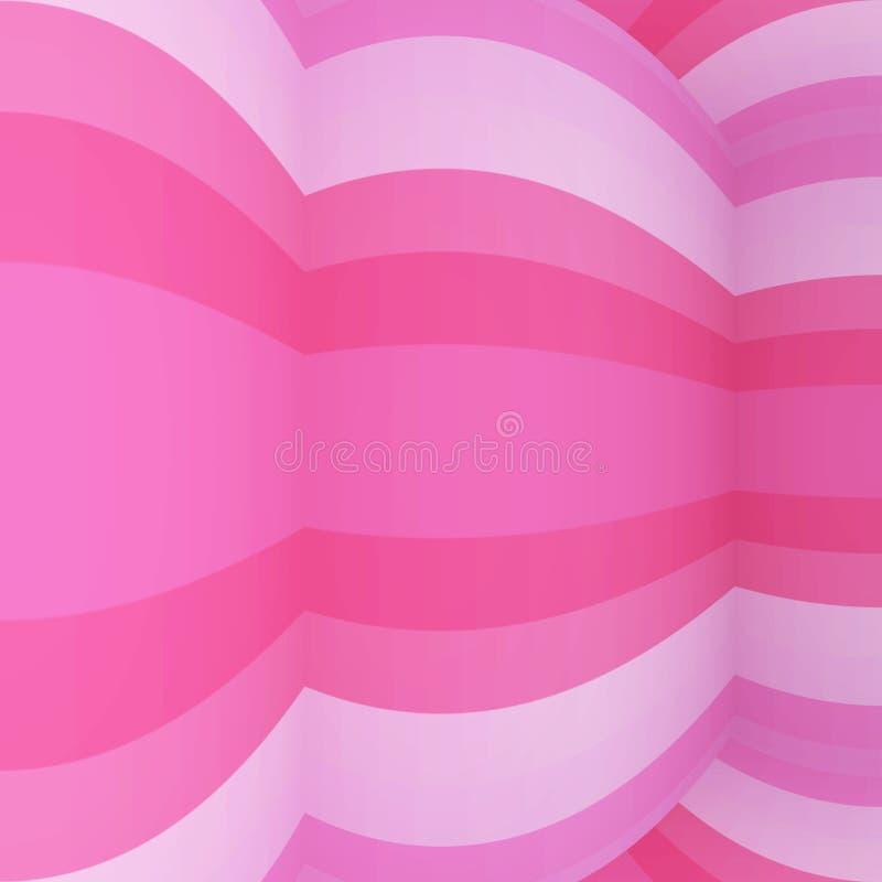 Curva del amor del caramelo stock de ilustración