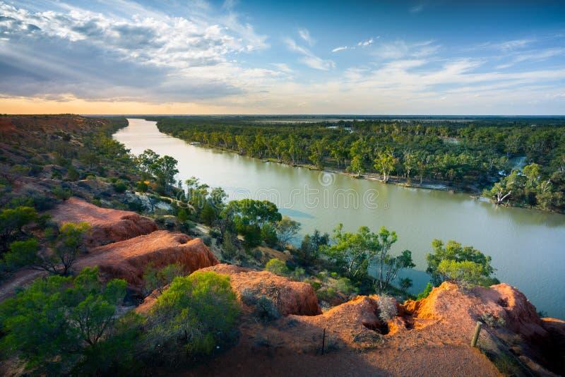 Curva del fiume immagini stock libere da diritti