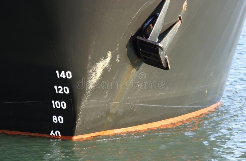 Curva do navio imagens de stock royalty free
