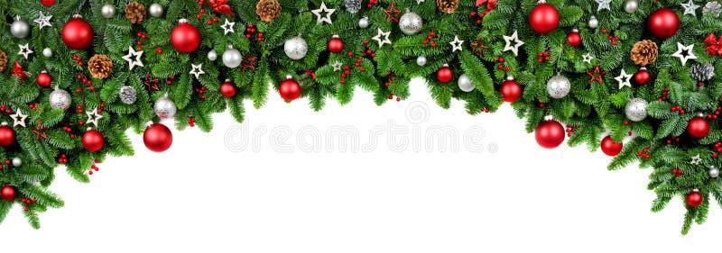 Curva larga beira dada forma do Natal foto de stock royalty free