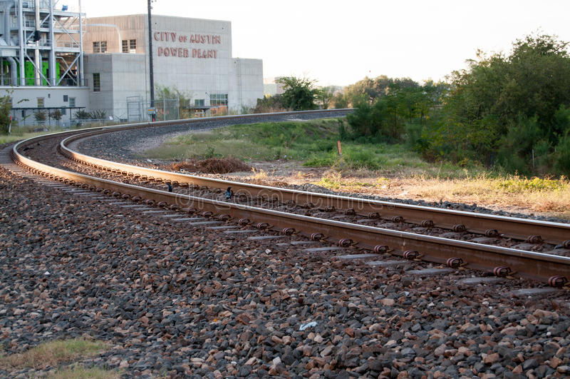Curvado alrededor de la curva en Austin, TX imagen de archivo libre de regalías