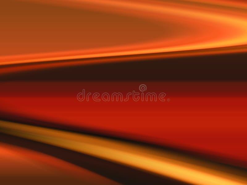 Curvas abstratas ilustração stock