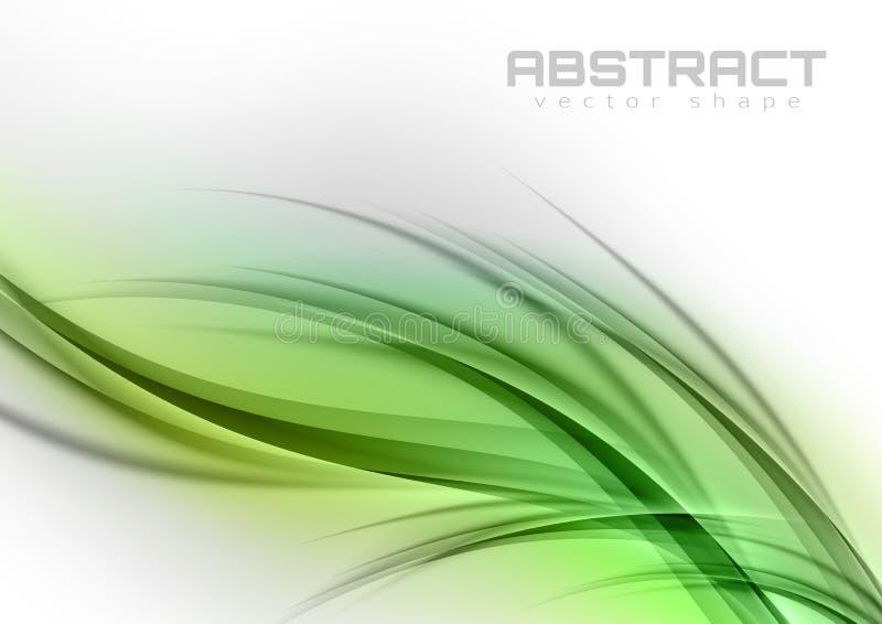 Curvas abstratas ilustração do vetor