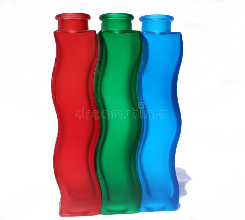 Curvas de vidro fotografia de stock