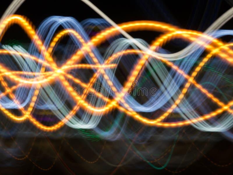 Curvas del pecado, ondas del color ilustración del vector
