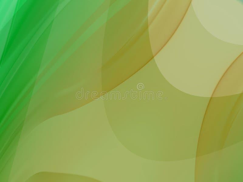 Curvas onduladas ilustração stock
