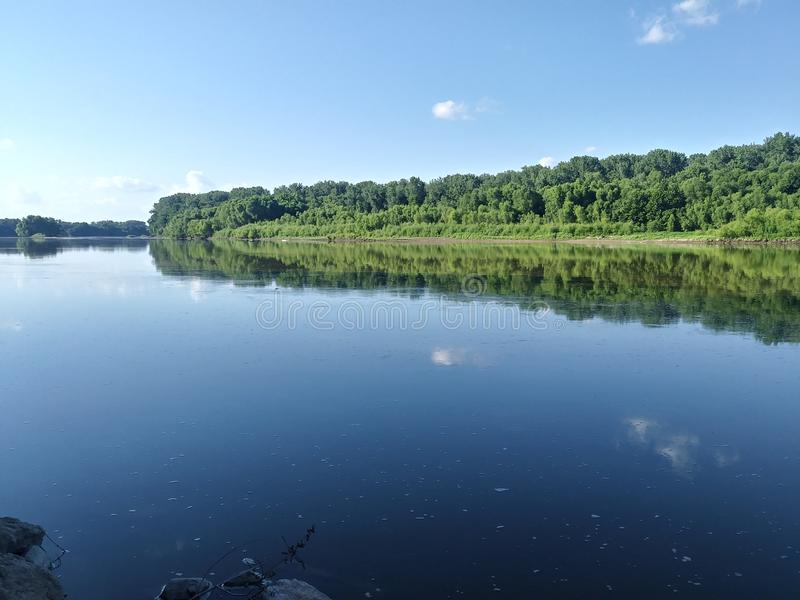 Curvatura do rio imagens de stock royalty free