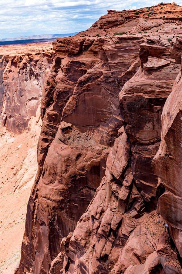 A curvatura em ferradura bonita no Arizona foto de stock royalty free