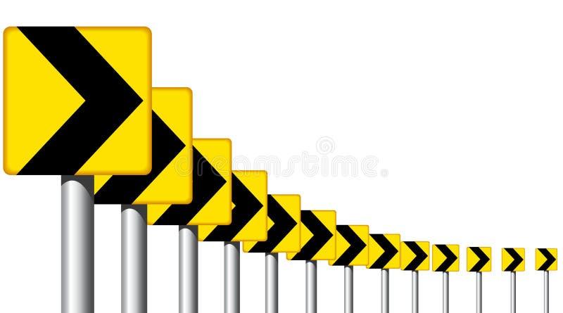 Download Curve stock vector. Illustration of warning, curve, sharp - 12367432