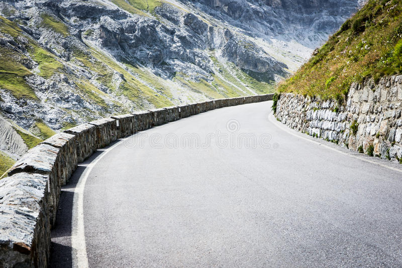 Download Curve At The Alps Royalty Free Stock Images - Image: 28869949