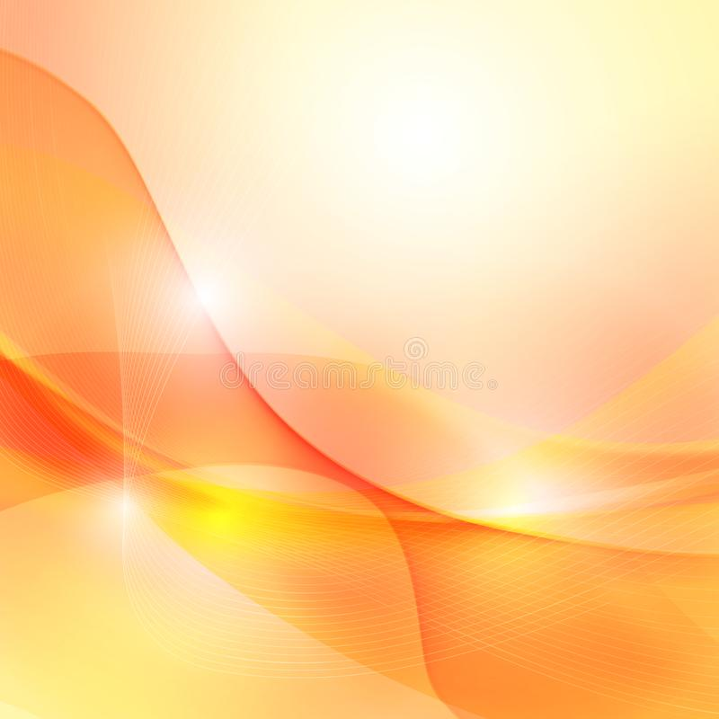 Curve and blend background 003. Abstract background curve line blur light and blend element with copy space  vector illustration eps10, blue, wave, lines, design royalty free stock image