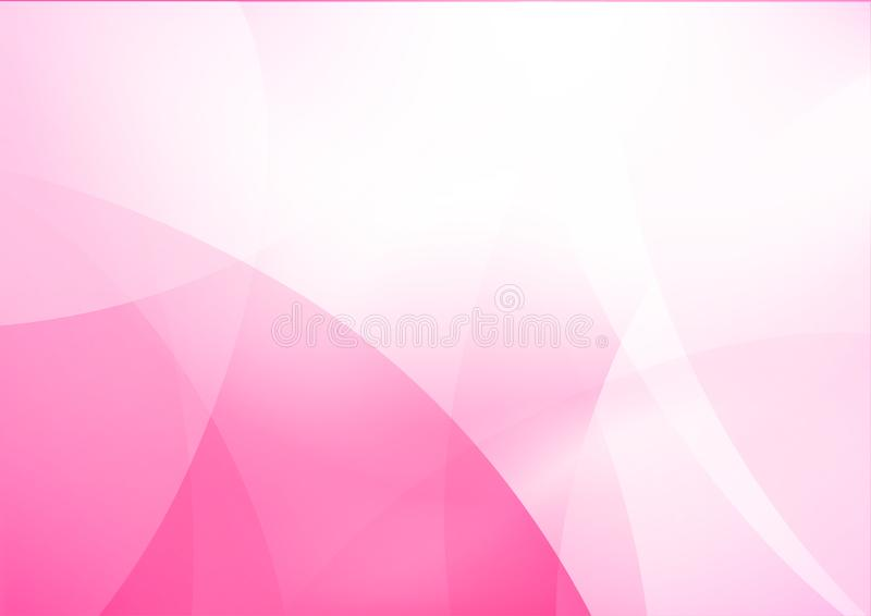 Curve and blend light pink abstract background 012. Abstract background curve line pink light and blend element with copy space vector illustration eps10 stock illustration