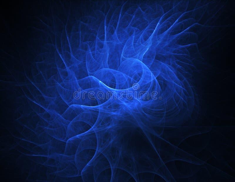 Curve blu fotografia stock libera da diritti