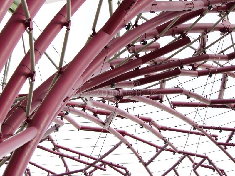 Curve ed angoli di un Supertree immagini stock libere da diritti