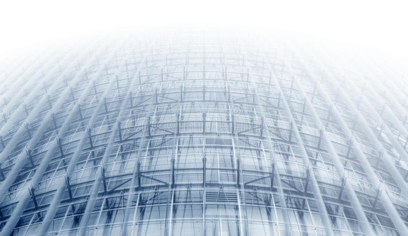 Curve Framework. Curve Structural Framework in Blue royalty free stock photo