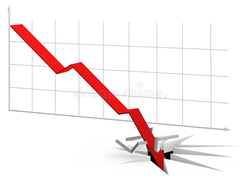 Download Curve Going Through The Floor Stock Illustration - Image: 21727346