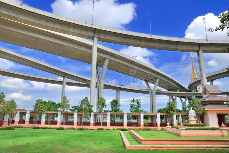 Download Curve Of The Highway Bridge Stock Photo - Image: 15751088
