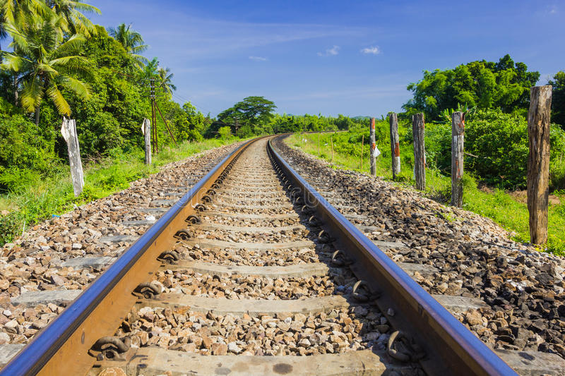 Download Curve railway track stock image. Image of speed, landscape - 27725789