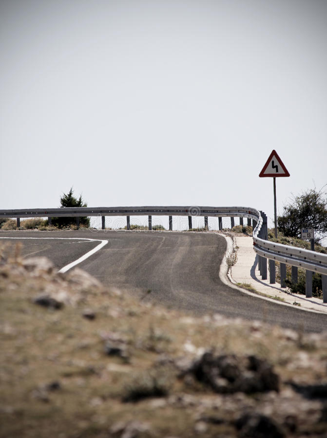 Download Curve On Road Royalty Free Stock Photo - Image: 21505775