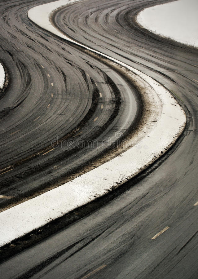 Download Curve road stock photo. Image of outdoor, curve, slippery - 25011480
