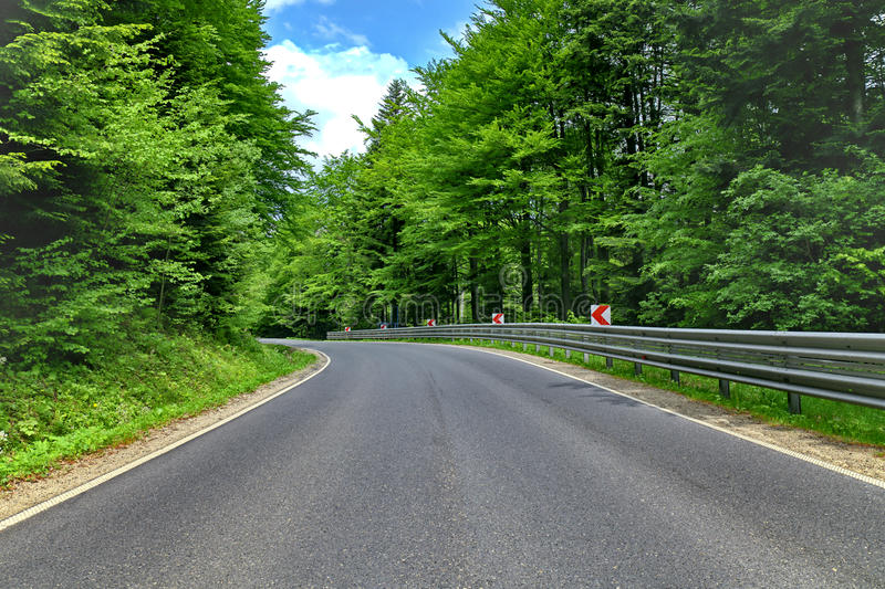 Download Curve road stock photo. Image of rural, empty, lane, road - 25557948