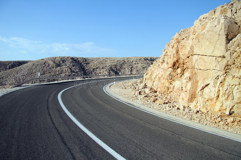 Download Curve on the road stock photo. Image of asphalt, road - 26427978