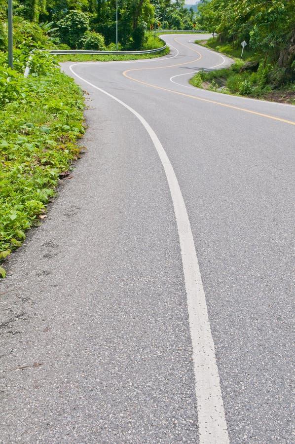 Download Curve road stock image. Image of travel, danger, hill - 27322373